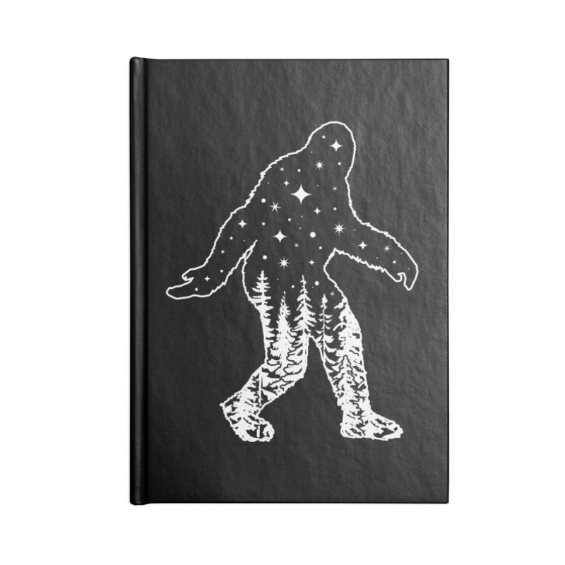 STAR SQUATCH Accessories Lined Journal Notebook by Nikol King's Artist Shop