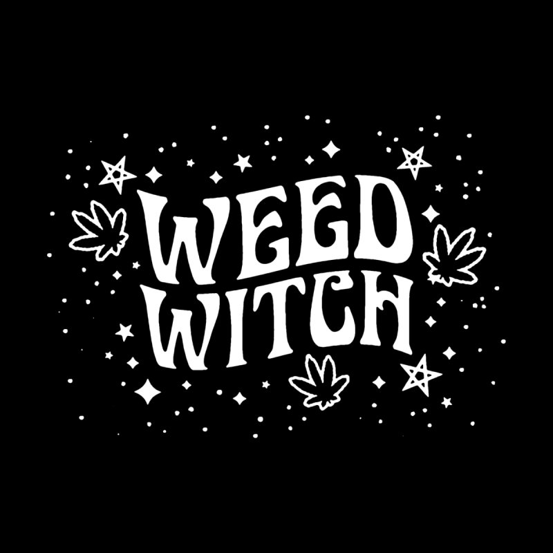 Weed Witch by Nikol King's Artist Shop