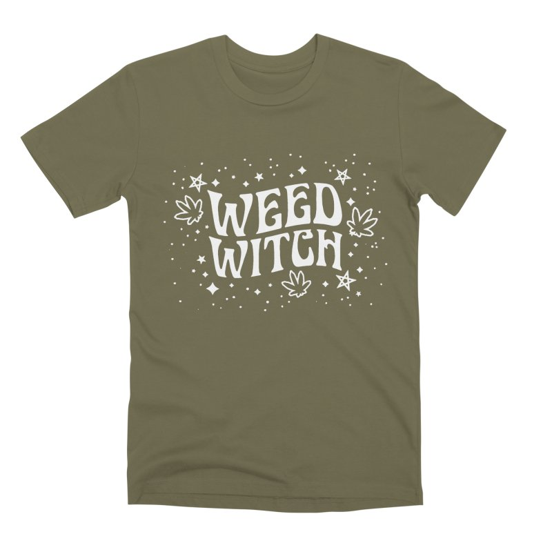 Weed Witch Men's Premium T-Shirt by nikolking's Artist Shop