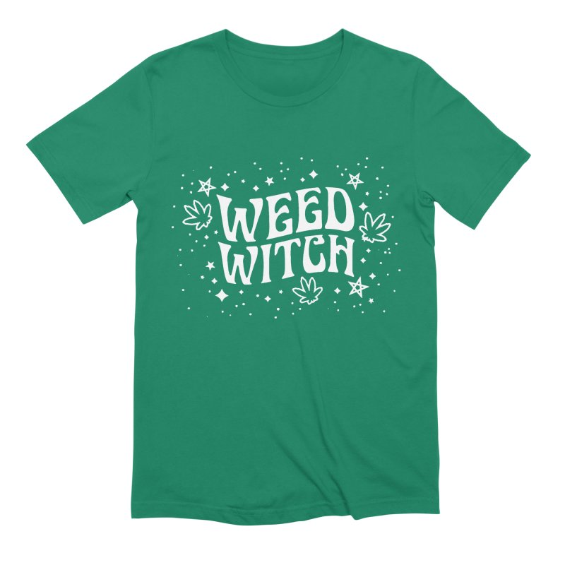 Weed Witch Men's Extra Soft T-Shirt by Niko L King's Artist Shop