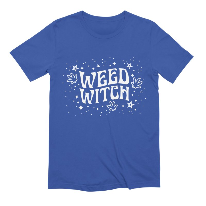 Weed Witch Men's Extra Soft T-Shirt by nikolking's Artist Shop