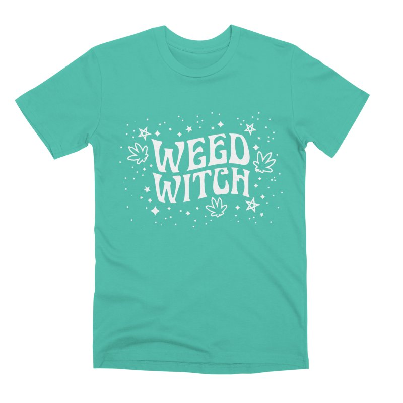 Weed Witch Men's Premium T-Shirt by Nikol King's Artist Shop