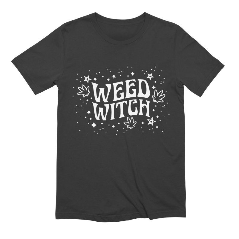 Weed Witch Men's Extra Soft T-Shirt by Nikol King's Artist Shop