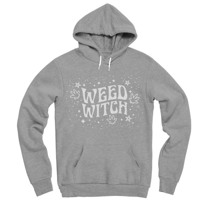 Weed Witch Men's Sponge Fleece Pullover Hoody by Nikol King's Artist Shop
