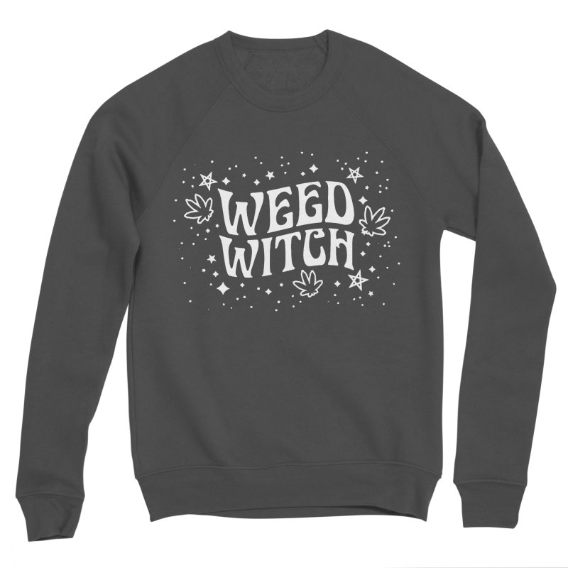 Weed Witch Women's Sponge Fleece Sweatshirt by Nikol King's Artist Shop