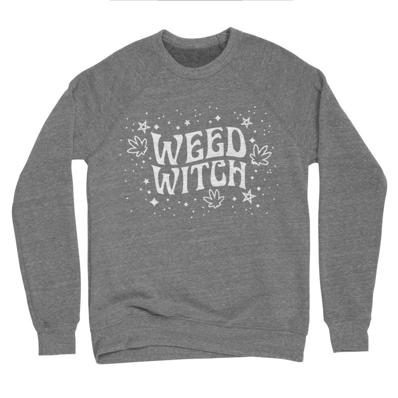 Weed Witch Men's Sponge Fleece Sweatshirt by Nikol King's Artist Shop