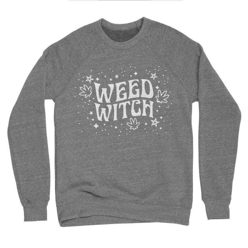 Weed Witch Women's Sponge Fleece Sweatshirt by Nikol King's Artist Shop