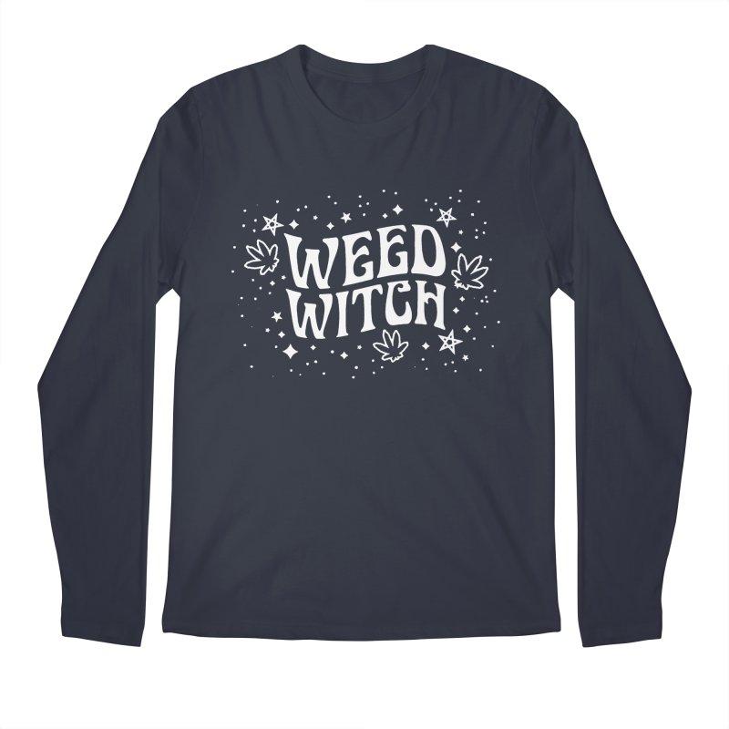 Weed Witch Men's Regular Longsleeve T-Shirt by Nikol King's Artist Shop