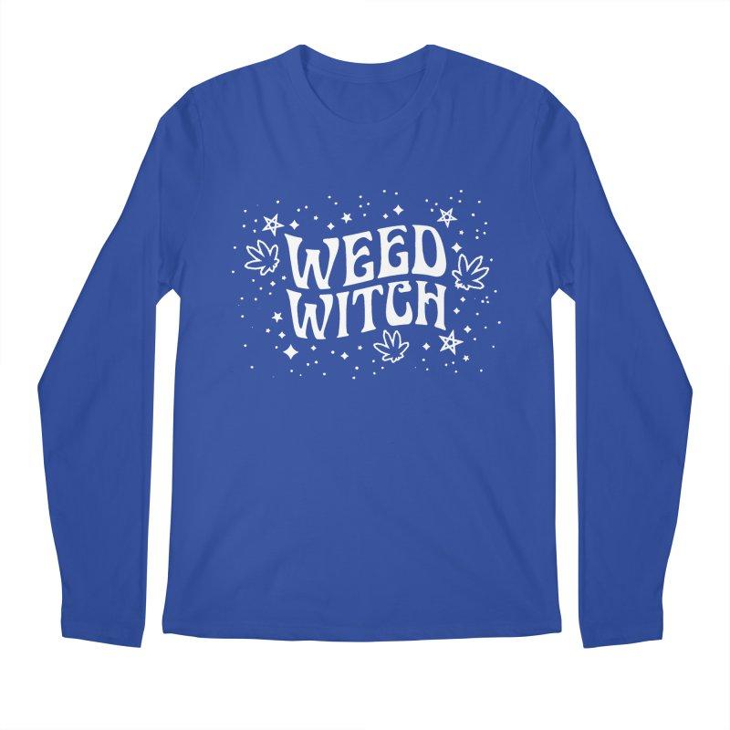 Weed Witch Men's Regular Longsleeve T-Shirt by nikolking's Artist Shop