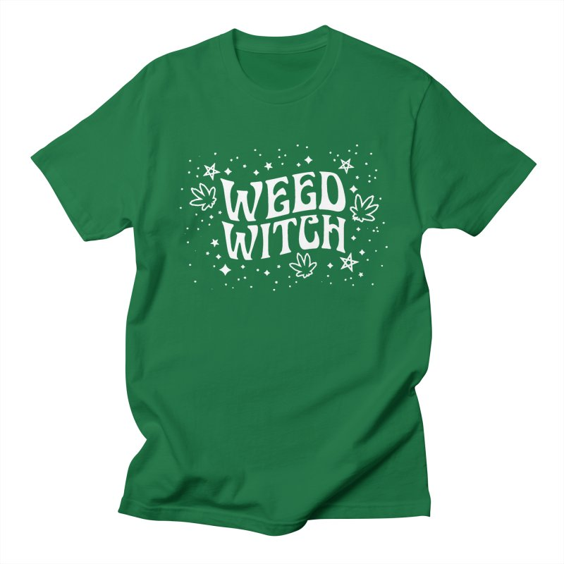 Weed Witch Women's Regular Unisex T-Shirt by Nikol King's Artist Shop