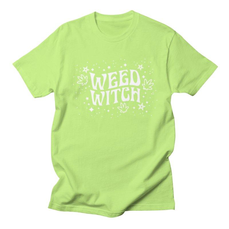 Weed Witch Women's Regular Unisex T-Shirt by Nikol King's Artist Shop