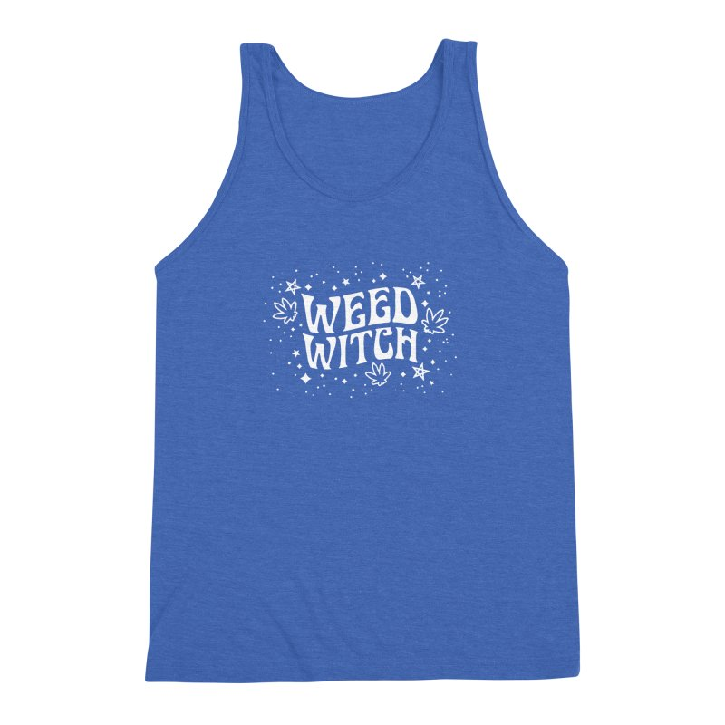 Weed Witch Men's Triblend Tank by Nikol King's Artist Shop