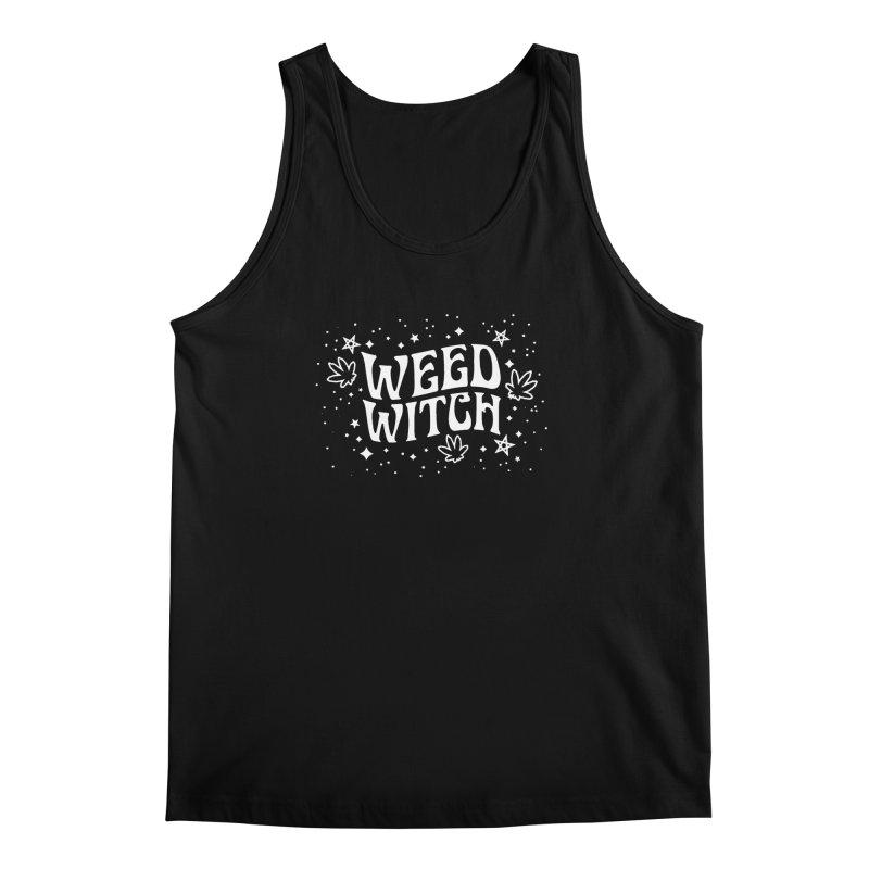 Weed Witch Men's Regular Tank by Niko L King's Artist Shop