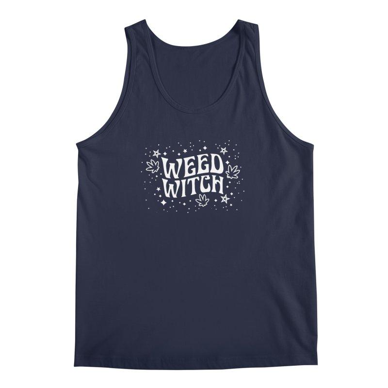 Weed Witch Men's Regular Tank by Nikol King's Artist Shop
