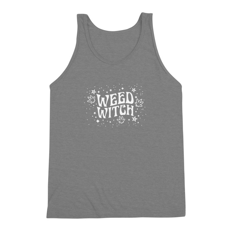 Weed Witch Men's Triblend Tank by nikolking's Artist Shop