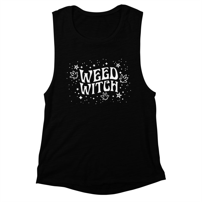 Weed Witch Women's Muscle Tank by Nikol King's Artist Shop