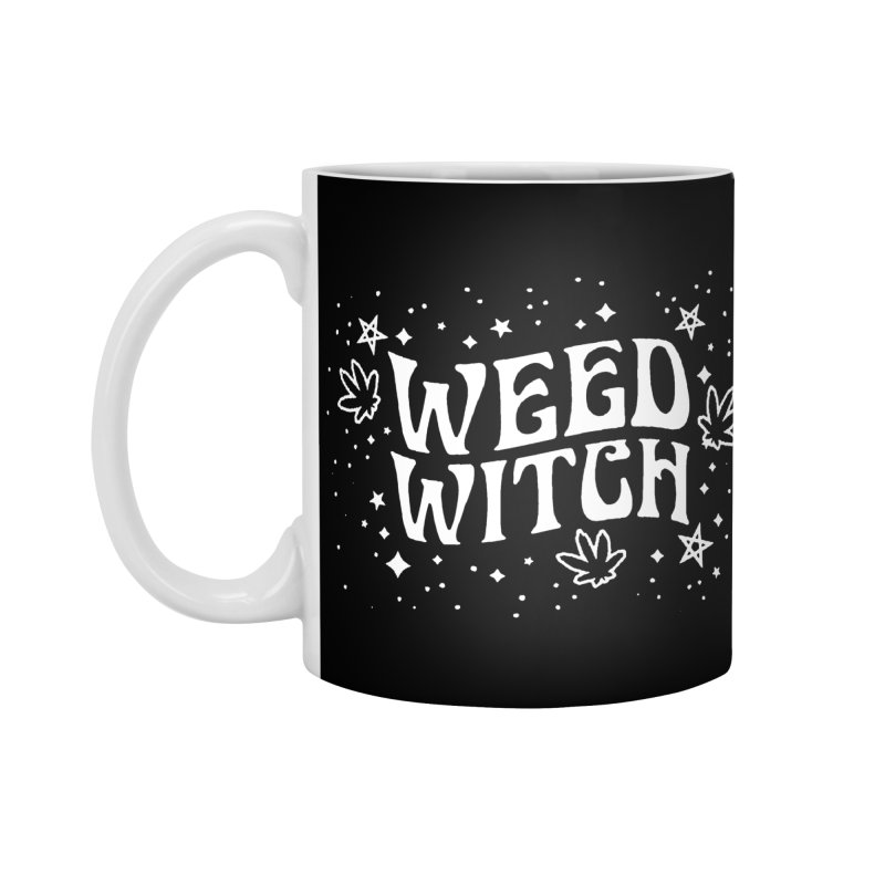 Weed Witch Accessories Mug by Niko L King's Artist Shop
