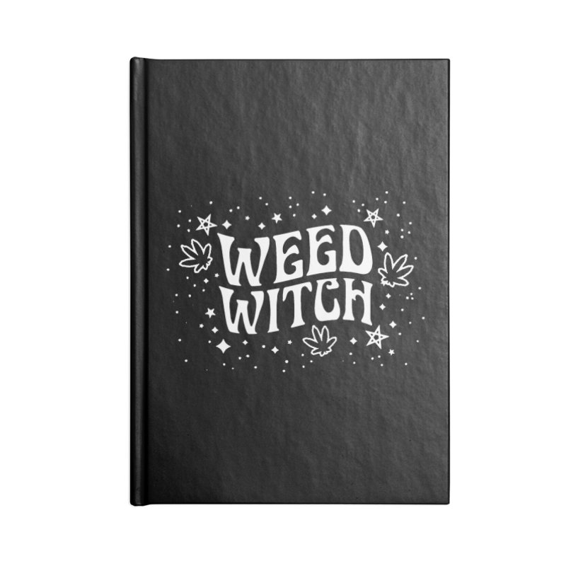 Weed Witch Accessories Lined Journal Notebook by Nikol King's Artist Shop