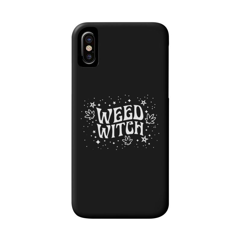 Weed Witch Accessories Phone Case by Nikol King's Artist Shop