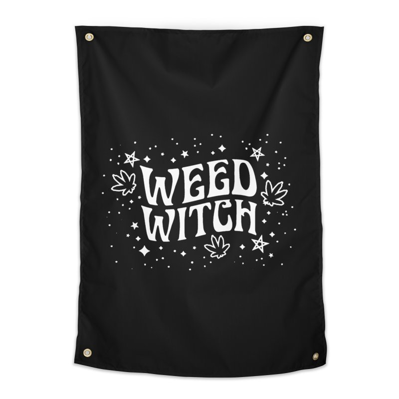 Weed Witch Home Tapestry by Niko L King's Artist Shop