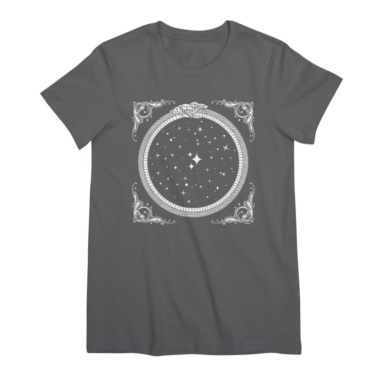 The Serpent & Stars Women's Premium T-Shirt by Niko L King's Artist Shop