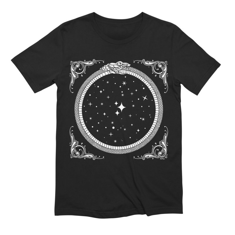 The Serpent & Stars Men's Extra Soft T-Shirt by Nikol King's Artist Shop