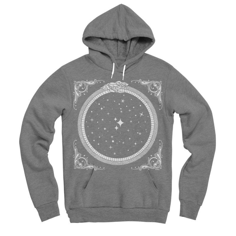 The Serpent & Stars Men's Sponge Fleece Pullover Hoody by Nikol King's Artist Shop