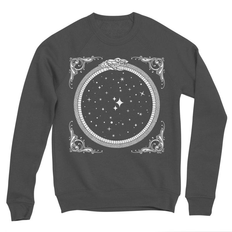 The Serpent & Stars Men's Sponge Fleece Sweatshirt by Nikol King's Artist Shop