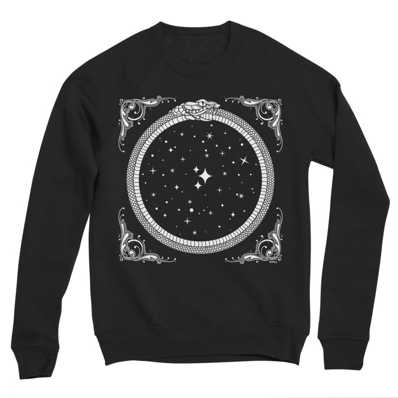 The Serpent & Stars Men's Sponge Fleece Sweatshirt by Nikol King's Artist Shop