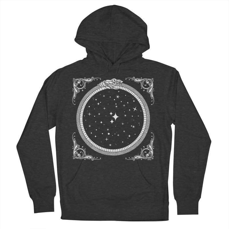 The Serpent & Stars Women's French Terry Pullover Hoody by Nikol King's Artist Shop