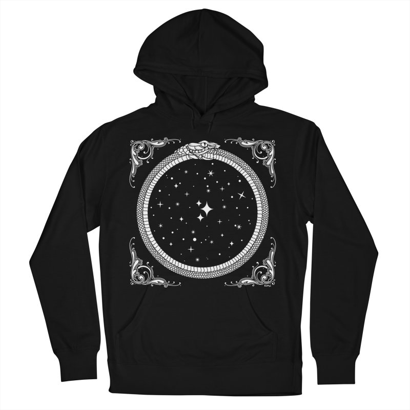 The Serpent & Stars Men's French Terry Pullover Hoody by nikolking's Artist Shop
