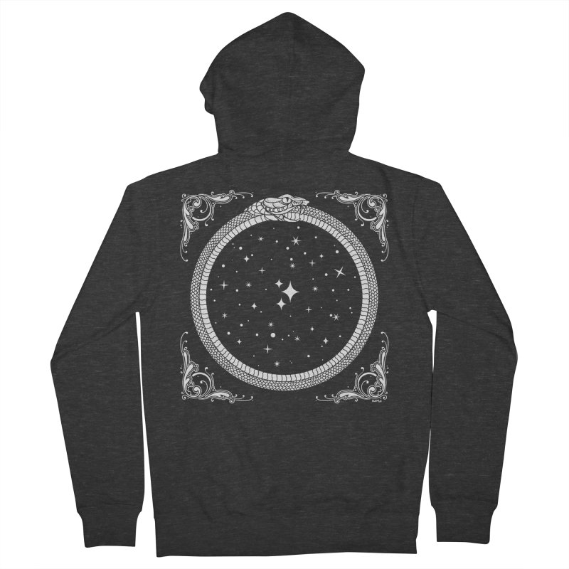 The Serpent & Stars Women's French Terry Zip-Up Hoody by Niko L King's Artist Shop