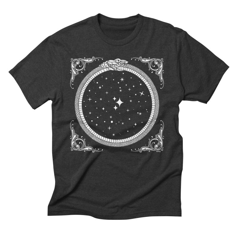 The Serpent & Stars Men's Triblend T-Shirt by Nikol King's Artist Shop