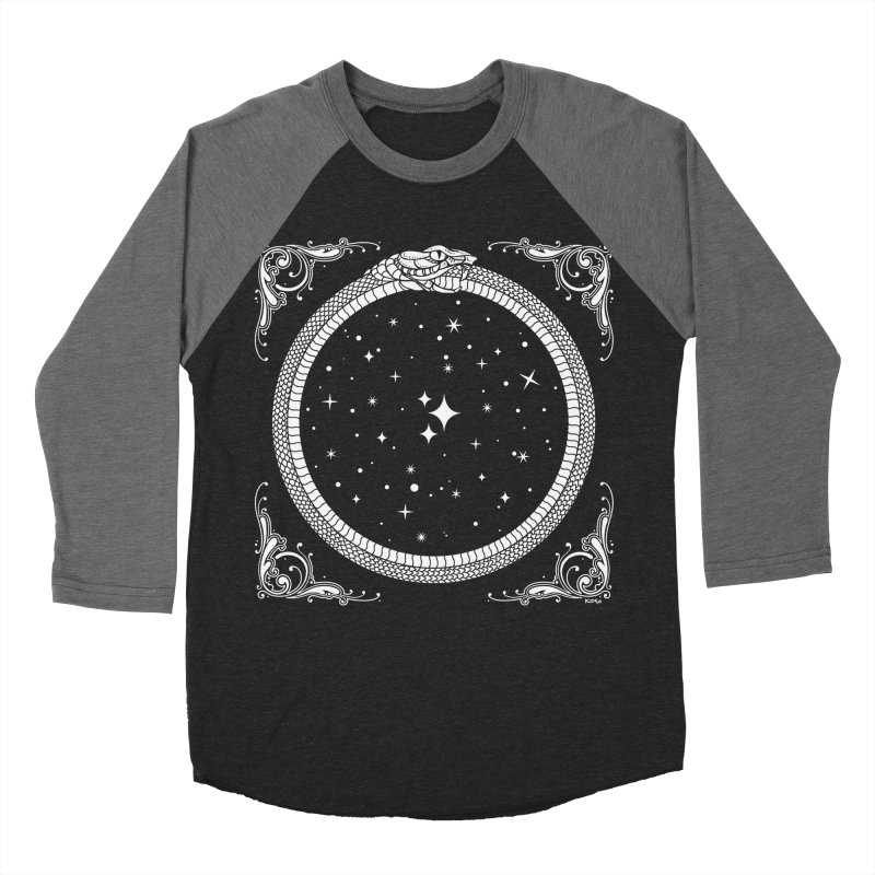 The Serpent & Stars Women's Baseball Triblend Longsleeve T-Shirt by Nikol King's Artist Shop