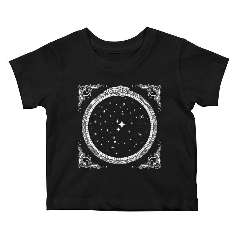 The Serpent & Stars Kids Baby T-Shirt by Nikol King's Artist Shop