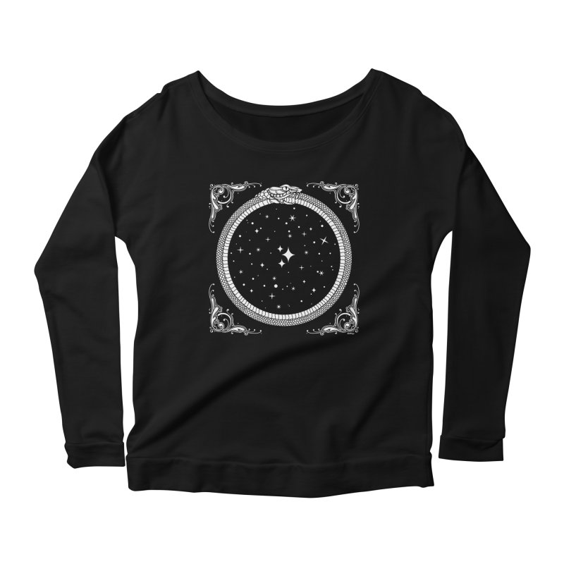 The Serpent & Stars Women's Scoop Neck Longsleeve T-Shirt by Niko L King's Artist Shop