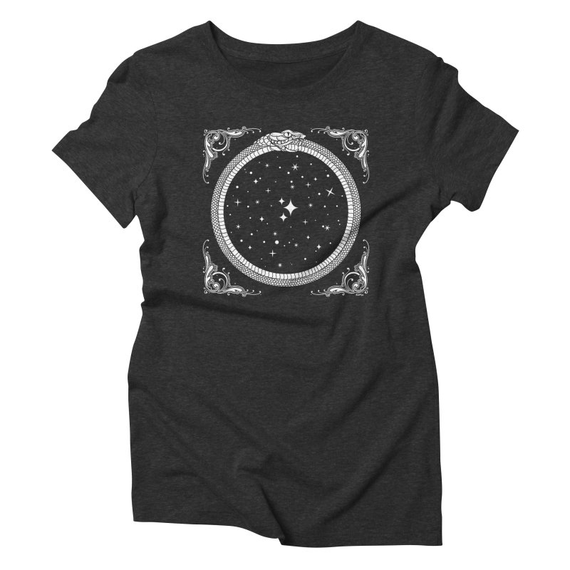 The Serpent & Stars Women's Triblend T-Shirt by Nikol King's Artist Shop