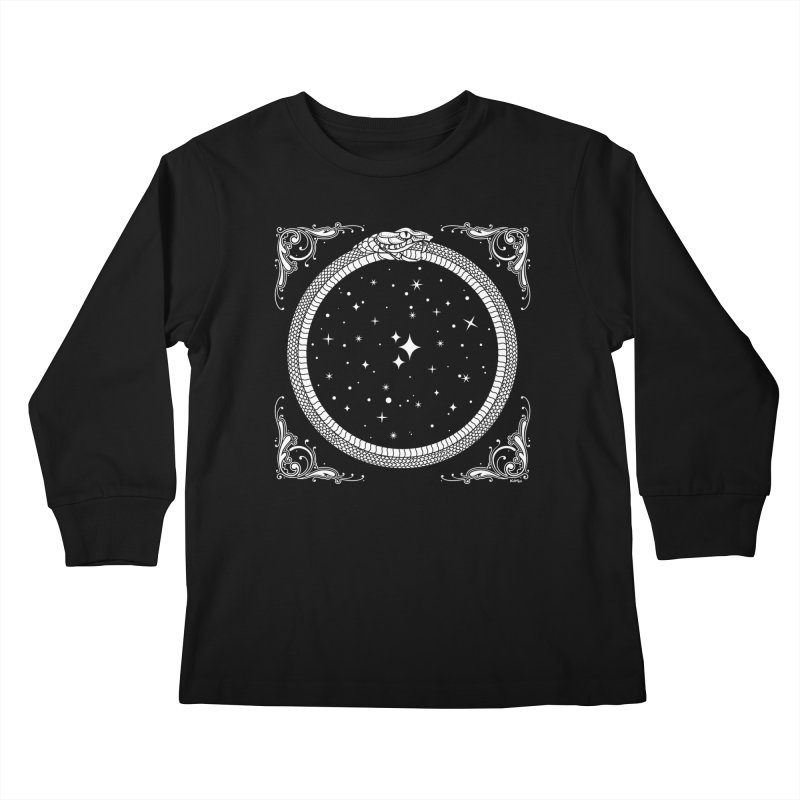 The Serpent & Stars Kids Longsleeve T-Shirt by Nikol King's Artist Shop
