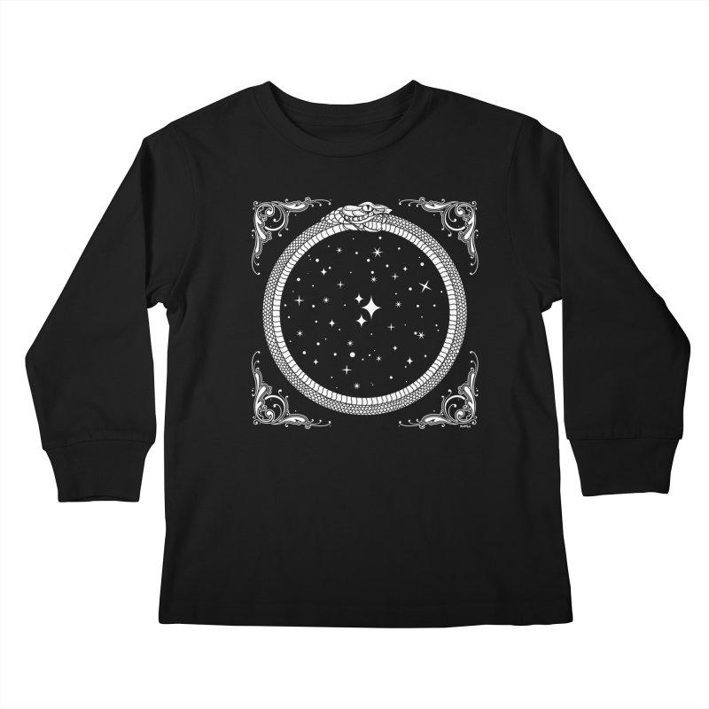 The Serpent & Stars Kids Longsleeve T-Shirt by nikolking's Artist Shop