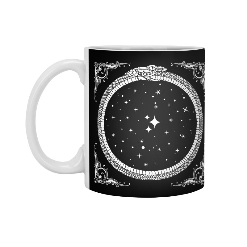 The Serpent & Stars Accessories Mug by Niko L King's Artist Shop