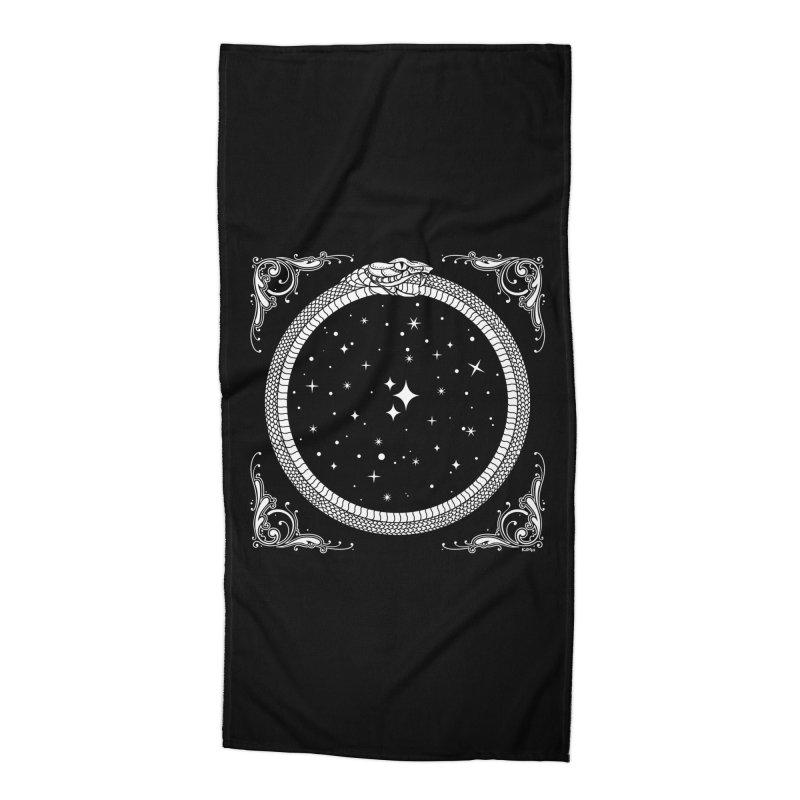 The Serpent & Stars Accessories Beach Towel by Niko L King's Artist Shop