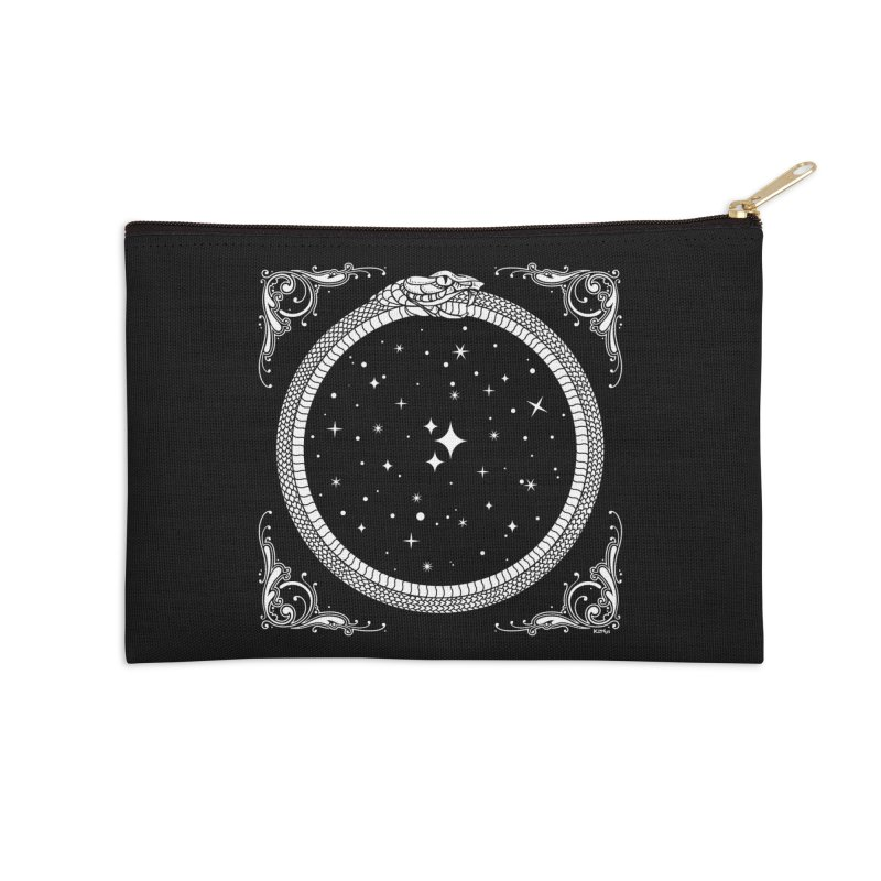 The Serpent & Stars Accessories Zip Pouch by Niko L King's Artist Shop
