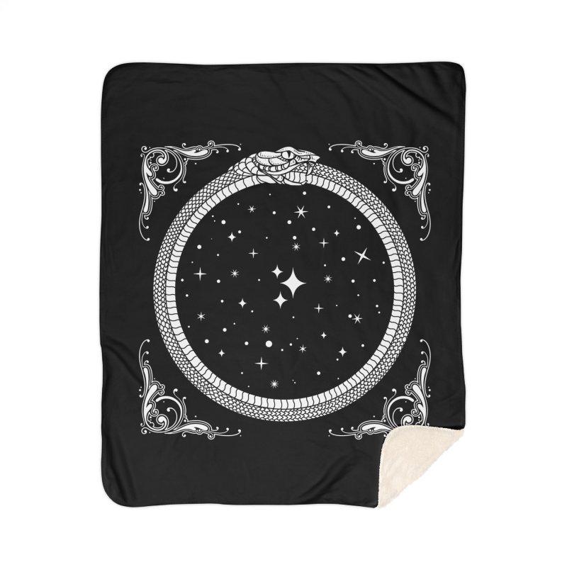 The Serpent & Stars Home Sherpa Blanket Blanket by Nikol King's Artist Shop