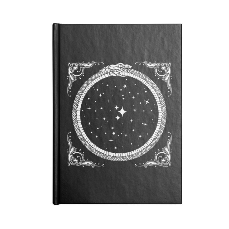 The Serpent & Stars Accessories Lined Journal Notebook by Nikol King's Artist Shop