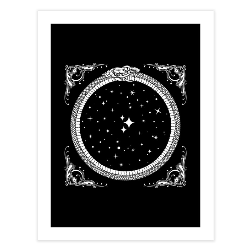 The Serpent & Stars Home Fine Art Print by Niko L King's Artist Shop