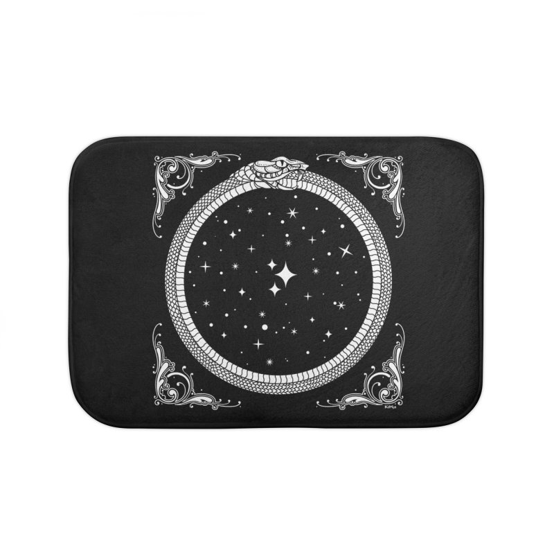 The Serpent & Stars Home Bath Mat by Nikol King's Artist Shop