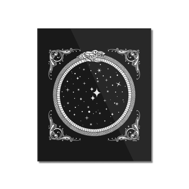 The Serpent & Stars Home Mounted Acrylic Print by Nikol King's Artist Shop