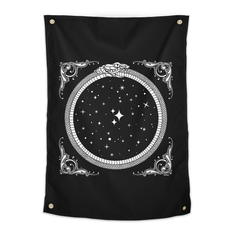 The Serpent & Stars Home Tapestry by Niko L King's Artist Shop