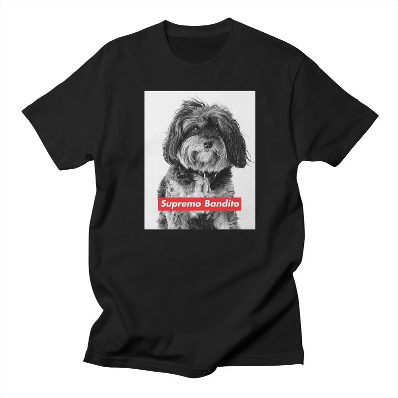 Supremo Bandito Men's T-Shirt by nikson's Artist Shop
