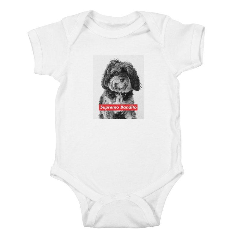 Supremo Bandito Kids Baby Bodysuit by nikson's Artist Shop